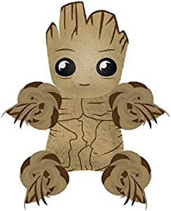 Marvel Comics for Pets Comics Guardians of The Galaxy Groot Rope Knot Buddy for Dogs | Guardians of The Galaxy Toys for All Dogs and Puppies