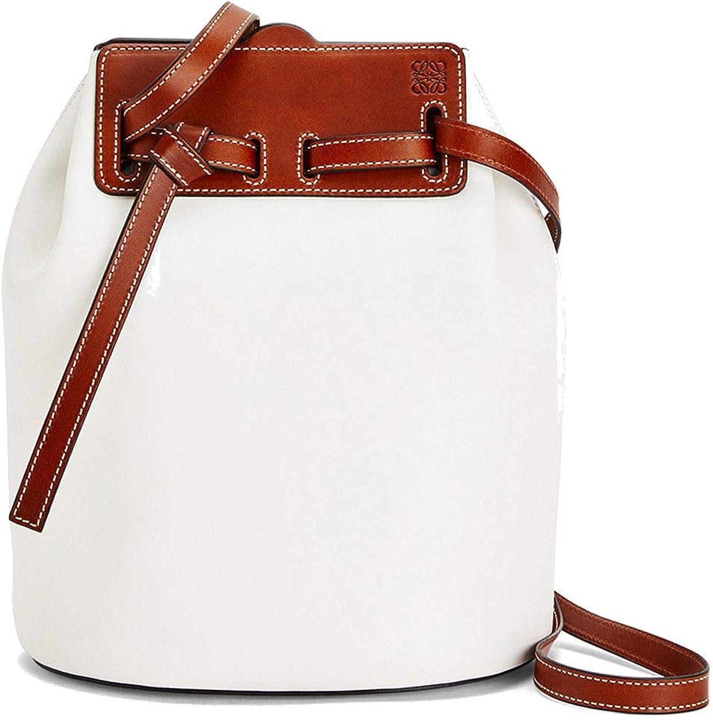 Loewe Mujer 32956Z211950 - Bolso bandolera (piel), color blanco blanco Talla De Fabricante Talla única: Amazon.es: Ropa y accesorios