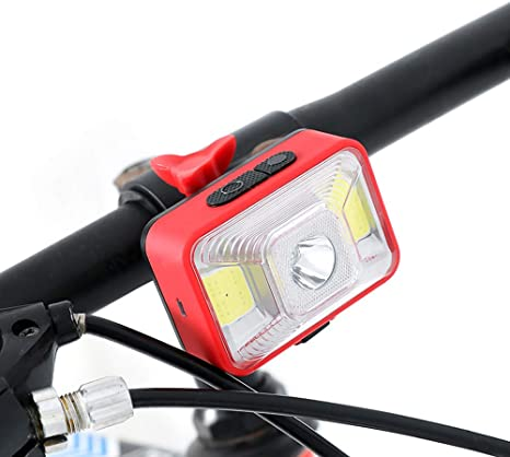 Bicycle LED Light Headlight Lamp Rechargeable Waterproof  for Mountain Bike