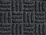 M+A Matting 265 WaterHog Masterpiece Select Polypropylene Fiber Entrance Indoor Floor Mat, SBR Rubber Backing, 3' Length x 2' Width, 3/8'' Thick, Thunderstorm