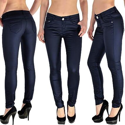 Pantalon en Cuir Pour Femmes Simili-Cuir Skinny Jeans De H12 FR