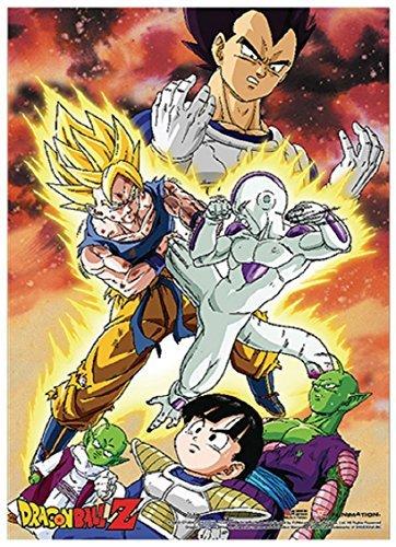 Dragonball Dragon Ball Z: Vegeta, Goku Vs. Frieza Wall Scrol