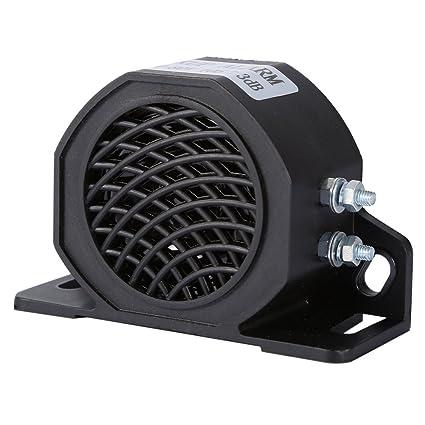 Alarma de respaldo de 12 - 80 V 105 dB resistente para coche, motocicleta, vehículo, bocina de marcha atrás, altavoz de bocina de marcha atrás alarma ...
