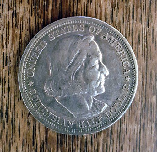 1893 Columbian Expo Commemorative 50 Cent Coin .50 Very Fine