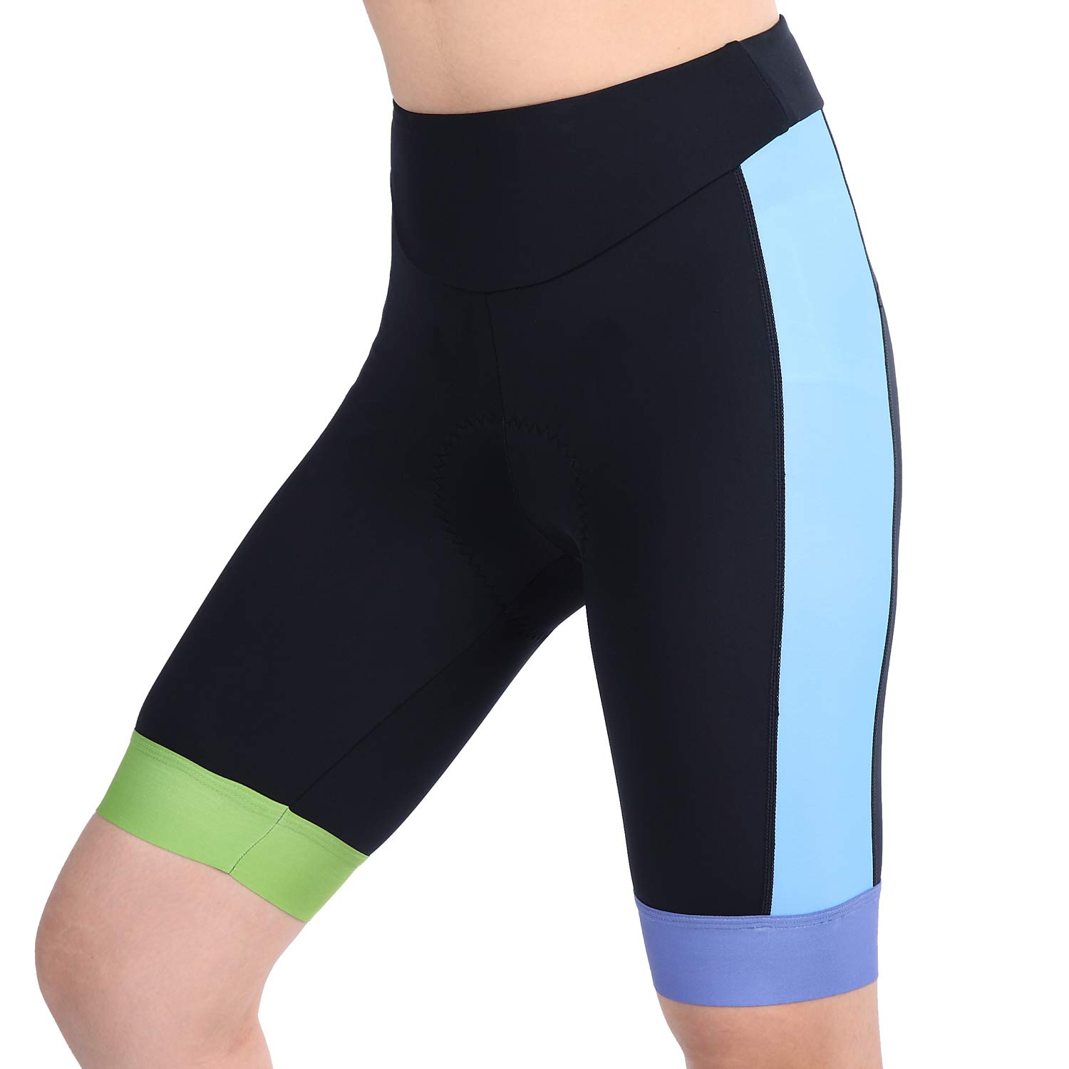 8cbdfd7e4d326c Fabric Material: 80% Nylon& 20% Spandex for cycling shorts. Breathable and  comfortable fabric wicks quickly away moisture and keeps you dry during  biking