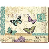 Creative Tops X-Large Postcard Butterfly Table Mats, Set of 4 by Creative Tops