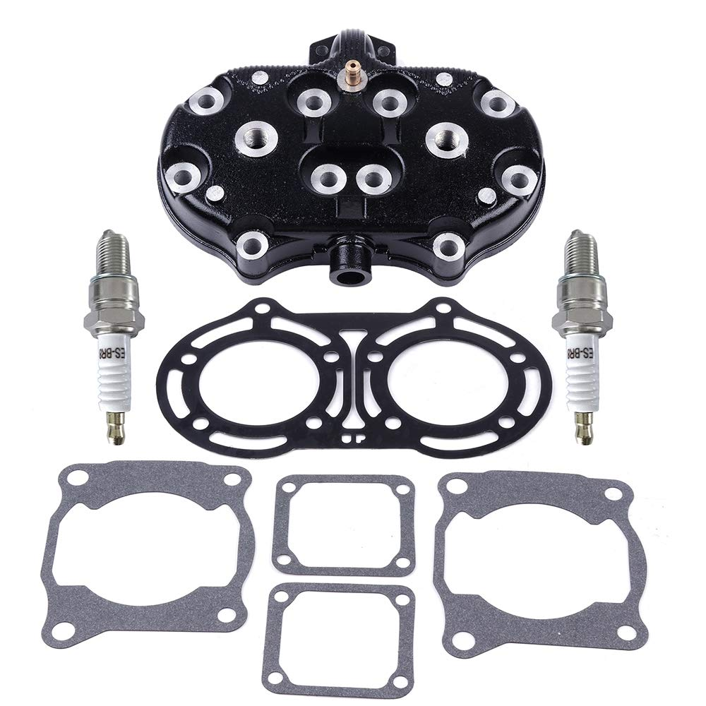 ECCPP New Cylinder Head Gasket Kit for 1987-2006 Yamaha Banshee 350 YFZ 350 Compatible fit for Cylinder Piston Gasket Kit