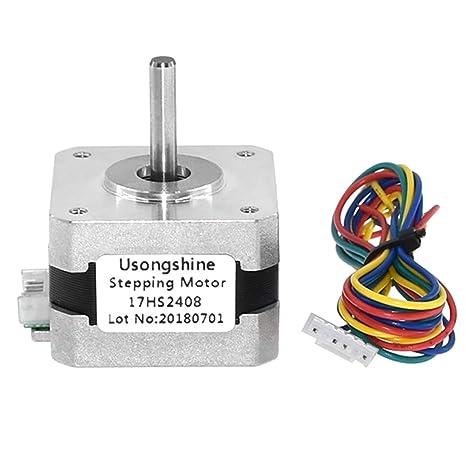Fansport No 17 Motor Paso A Paso Impresora 3D 4 Cable 0.6A 42 ...