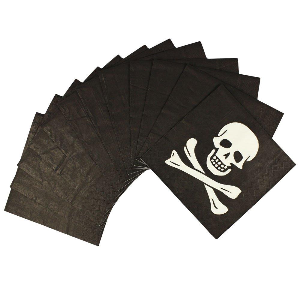 COM-FOUR/® Juego de sorteos Piratas de 37 Piezas para una Fiesta de cumplea/ños con hasta 6 ni/ños 37 Piezas - Sorteo