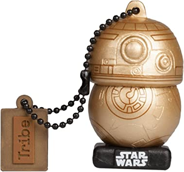 Llave USB 16 GB BB8 Gold - Memoria Flash Drive 2.0 Original Star ...