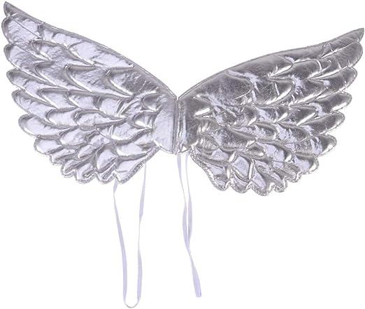 Amosfun alas de disfraz de ángel accesorios de foto de swing ...