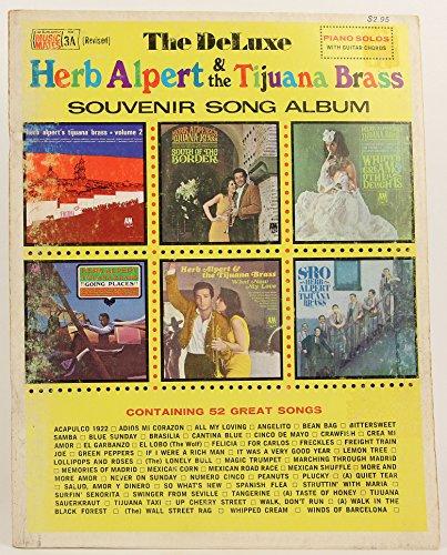 The Deluxe Herb Alpert and the Tijuana Brass Souvenir Song Album (Music Book)