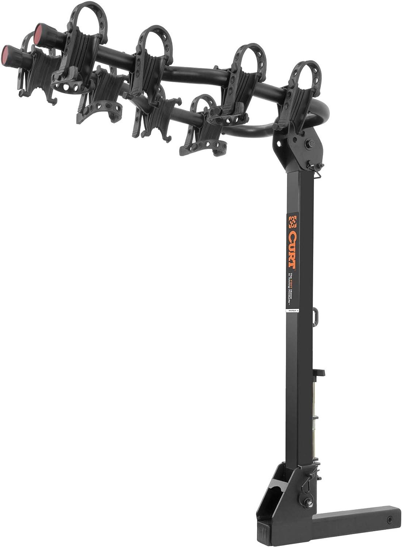 CURT 18064 Premium Hitch Bike Rack, 4 Bikes, Fits 2-Inch Receiver 61iX-v45mGLSL1500_