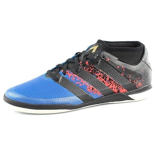 Zapatilla de Fútbol Sala Adidas Ace 16.1 Street Paris Black-Blue: Amazon.es: Zapatos y complementos