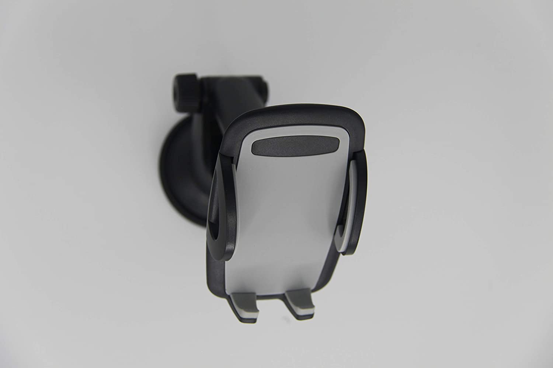 ALT Direct Suction Mount CAR Phone Holder B07N9227G2 GRAY Black Gray