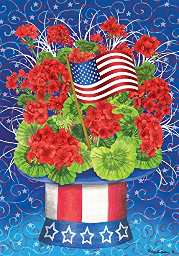 Custom Decor Patriotic Geranium