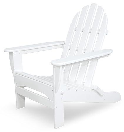 Amazon.com: Ivy terraza ivad5030wh Classics – Silla plegable ...