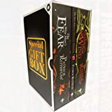 Kingkiller Chronicle Patrick Rothfuss Collection 3 Books Box Set -GiftBox(The Wise Man's Fear, The Slow Regard of Silent Things, The Name of the Wind)