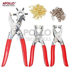 Card Rubber Paper Plastic Etc Toolzone Revolving Hole Punch Pliers Leather