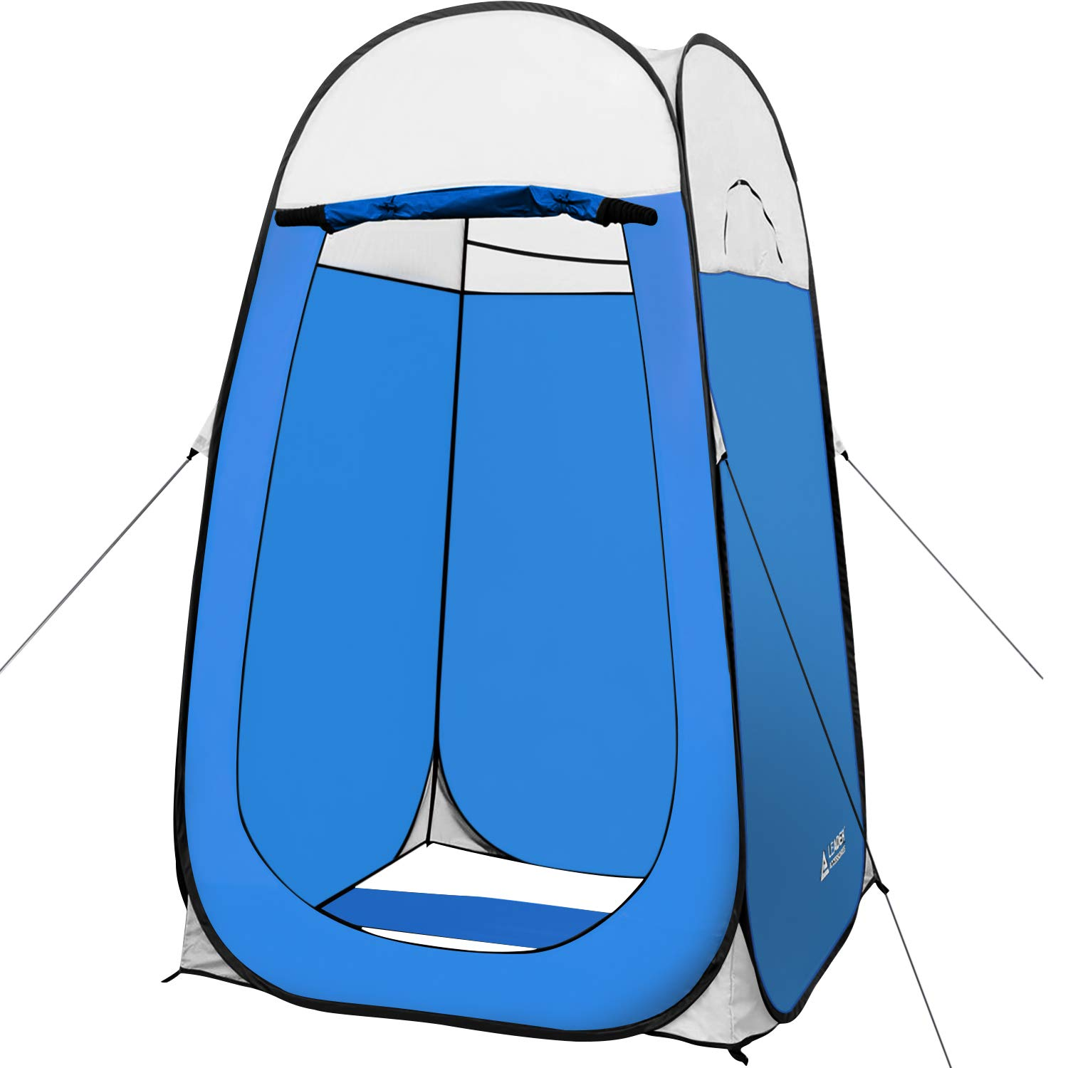 Leader Accessories Pop Up Shower Tent Dressing Changing Tent Pod Toilet Tent 4' x 4' x 78''(H) Big Size (Blue) by Leader Accessories