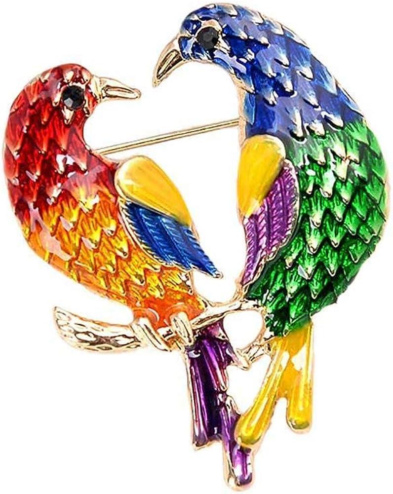 Wimagic 1X Super Mignon Broche Animal Hibou Minimaliste Araign/ée Convient pour Foulards ch/âles ou Manteaux Lornement Parfait pour Hommes et Femmes