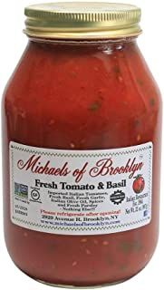 product image for Michael's of Brooklyn Fresh Tomato & Basil Sauce, 32 oz.