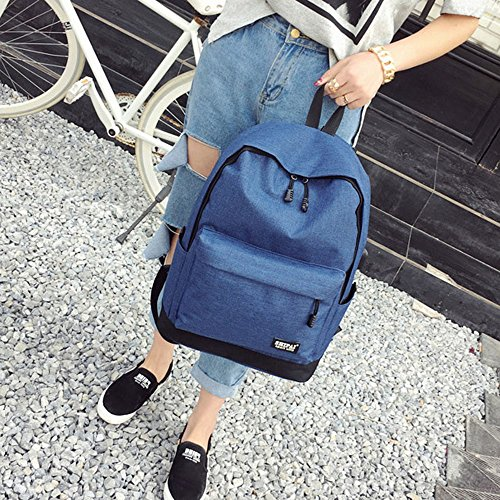 Bags School Shoulder Blue Bag Women Zipper Fashion Boy Teenage Backpack TianranRT Girl q0wg1aY