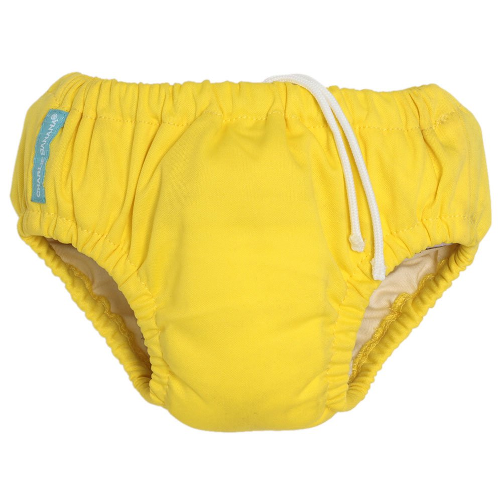 Charlie Banana Reusable Swim Diaper & Training Pants - Small (Yellow)