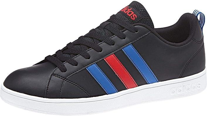 pedir ANTES DE CRISTO. precio  Amazon.com: adidas Vs Advantage - Zapatillas de tenis para hombre, color  negro, azul y azul: Shoes