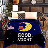 Raschel Blanket Thick Heavy Napping Throw Snuggle Reduce Anxiety Help Autism Bed Couch Cozy Warm Smooth Thanksgiving Wedding Christmas Birthday Gift,Full180×200cm 3kg