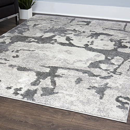 Home Dynamix Christian Siriano New York Roma Pamir Modern Abstract Area Rug 7 9 x10 2 Gray