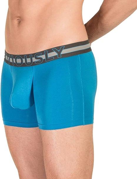 Obviously EveryMan AnatoMAX Boxer Brief 3inch Leg Bondi Blue