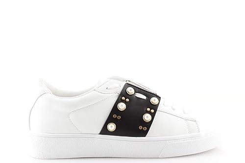 Borchie Rosa Goldamp; Bianche Con Nera Fascia O Sneakers Donna E Rc3AjL45q
