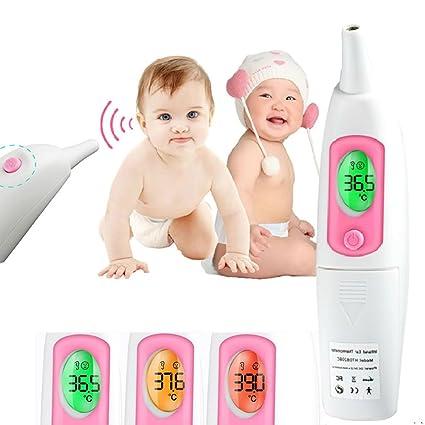 Médico termómetro de oído, askliy retroiluminación multifunción ...