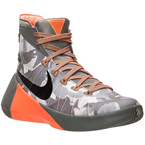 beneficioso Asociar Una noche  Buy Nike Hyperdunk 2015 Womens Basketball Shoes 749567-001 Size 13 D(M) US  Men M - Grey/Black/Silver/Grey at Amazon.in