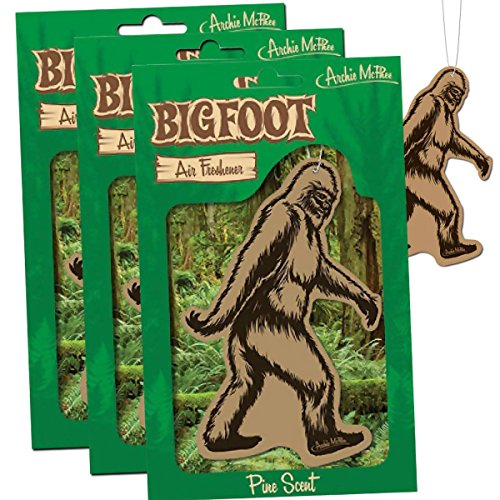 BIGFOOT Air Freshener Trailer Sasquatch