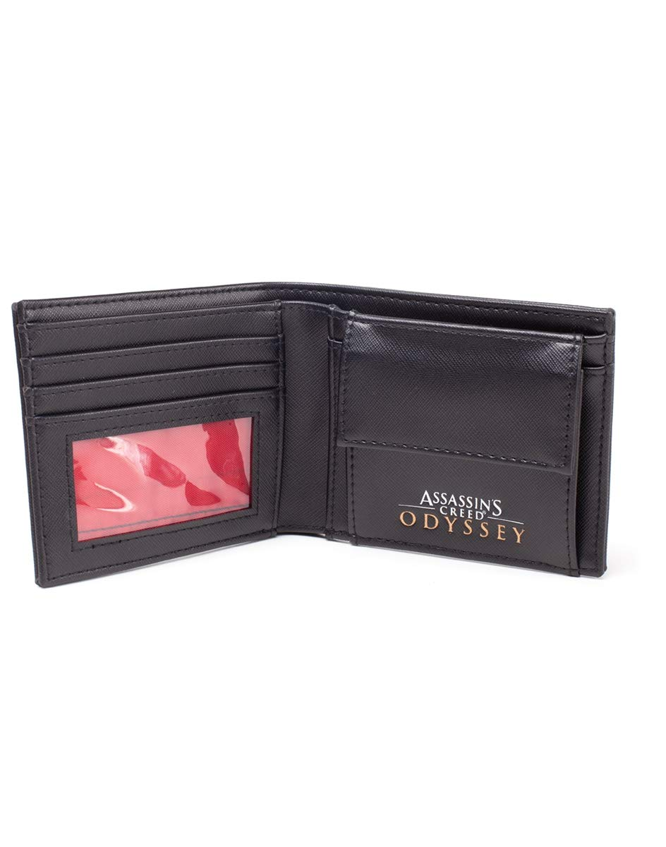 Assassins Creed Official Odyssey Wallet Metal Logo Badge