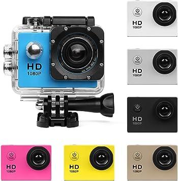 Cámara de acción HD 720P/1080P/4K Cámara deportiva - HD WIFI ...