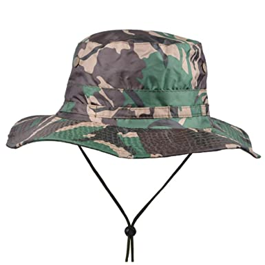 c5fd838f03f GAMT Outdoor Waterproof Foldable Rain Hat Sun Protection Cap For Men Green   Amazon.co.uk  Clothing