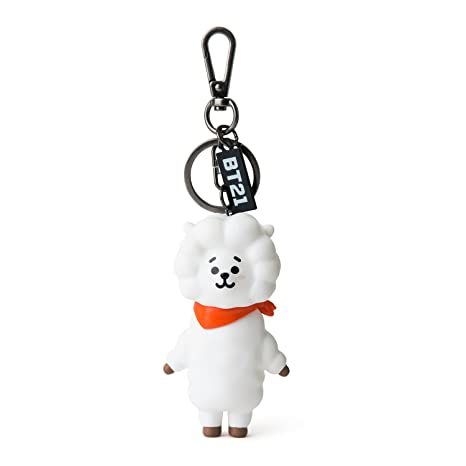 BT21 Official Merchandise by Line Friends - RJ Keychain Ring