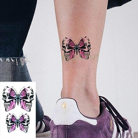 tzxdbh 7Pcs-Etiqueta engomada del Tatuaje a Prueba de Agua Gato ...