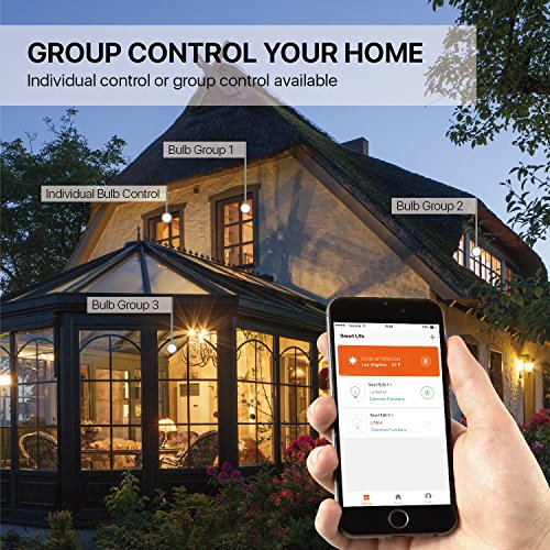 Control house lights with iphone Groots Info Tnp Smart Wifi Led Light Bulb Wireless Multicolored Home Automation Lighting Support Amazon Echo Alexa Google Home Iphone Amazoncom Tnp Smart Wifi Led Light Bulb Wireless Multicolored Home