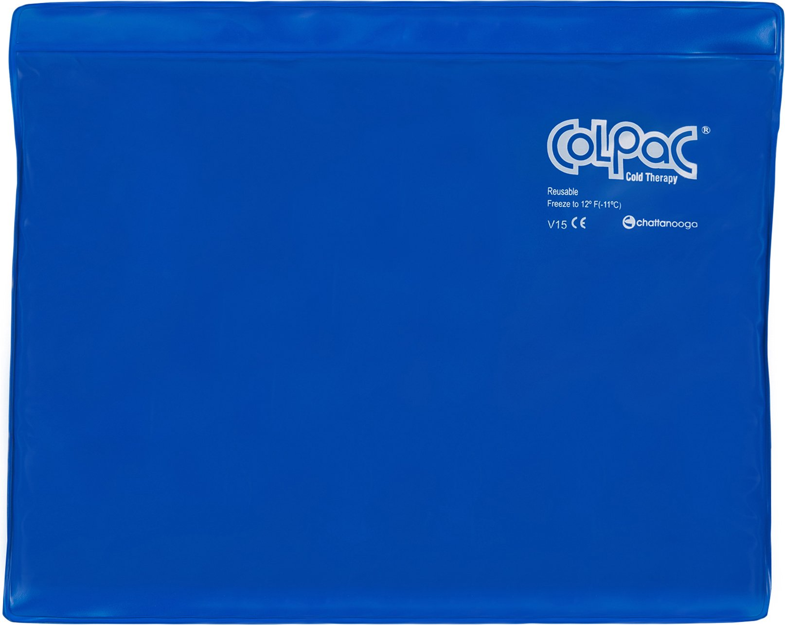 "Chattanooga ColPac Reusable Gel Ice Pack Cold Therapy for Knee, Arm, Elbow, Shoulder, Back for Aches, Swelling, Bruises, Sprains, Inflammation (11""x14"") - Blue"
