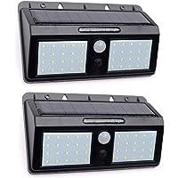Solar Motion Sensor Lights Outdoor - JOYHO Super Bright 40 LED Wireless Waterproof Solar Wall Outside Lighting, Solar…