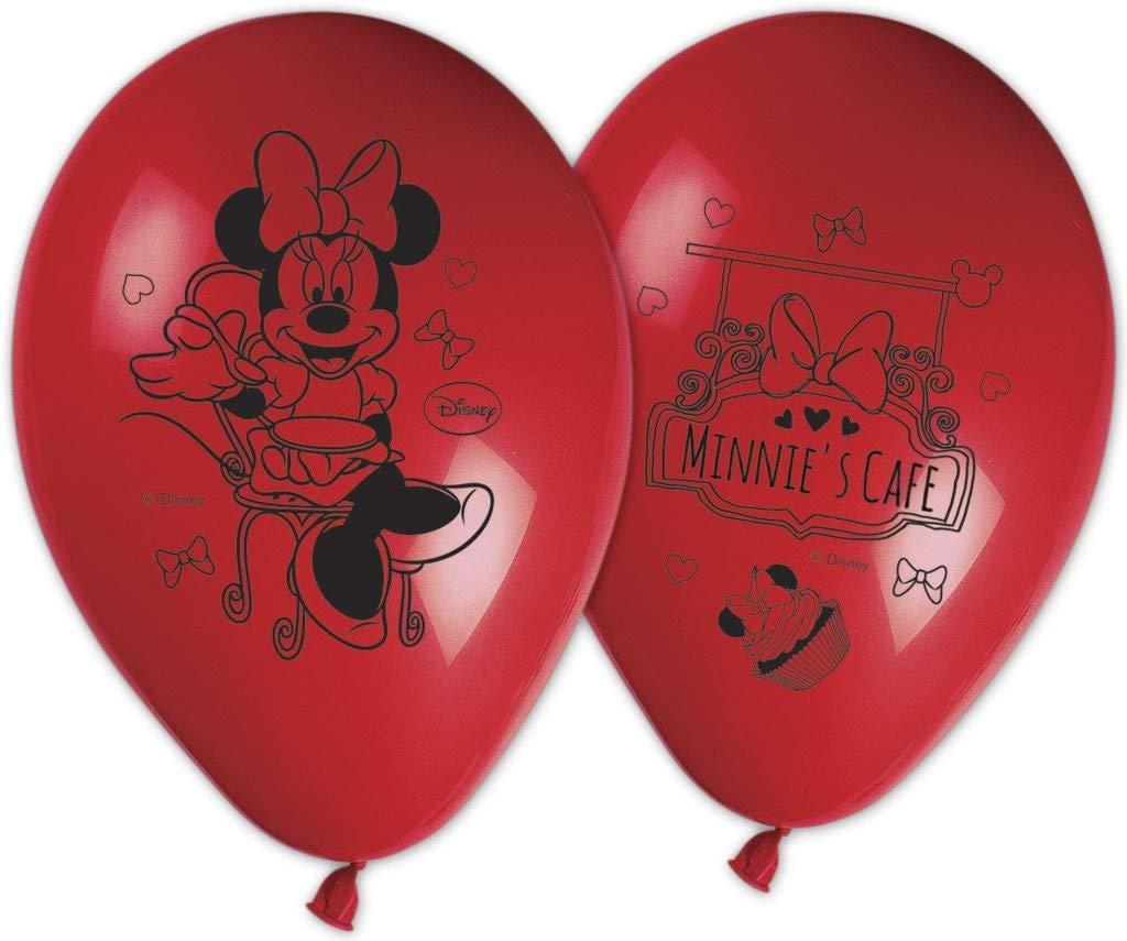 Lote de 8 globos hinchables con Minnie, multicolor, PR9716 ...