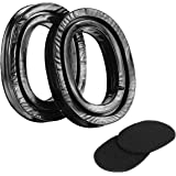 """ZOHAN EP02 Gel Ear Pads for 3M WorkTunes Hearing Protector - """"Peel & Stick"""" Design"""