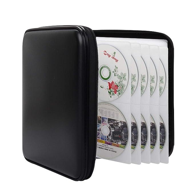 Amazon.com: Bageek - Estuche para CD y DVD (capacidad para ...
