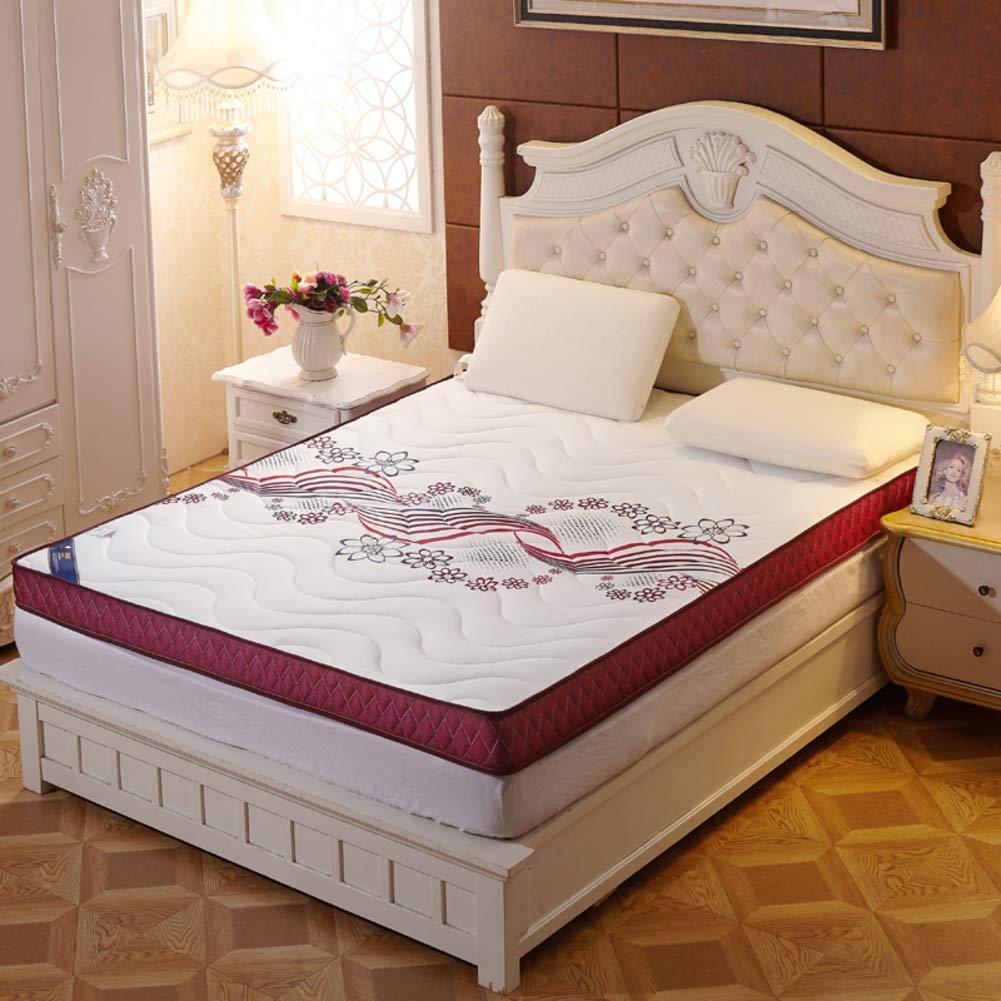 メモリスポーントースト ベッドパッド, ウルトラソフト 厚め 10 Cm 布団畳 快適 滑り止め 折り畳み式 マットレスをロールアップします。-d B07S19CY4R