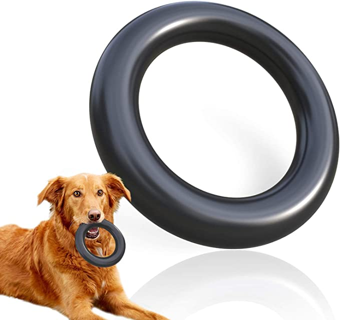 Wholesale Lot of 10 Choose Your Color Pet Chew Ring Anti-Pill Fleece With Durable Ring