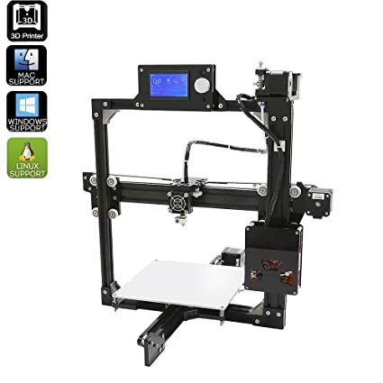 Impresora 3D en Kit DIY Metal Mac Windows Linux impresión 3D pla ...